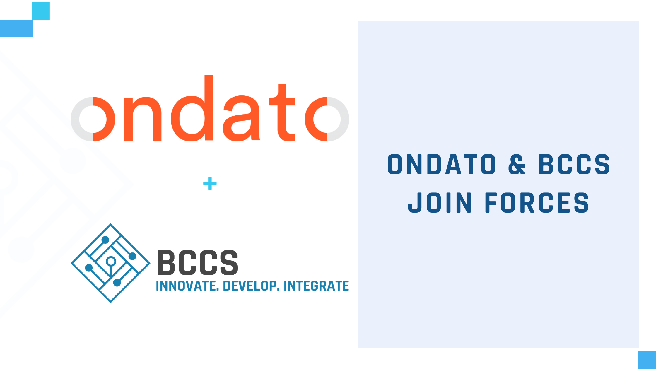 BCCS partners with Ondato